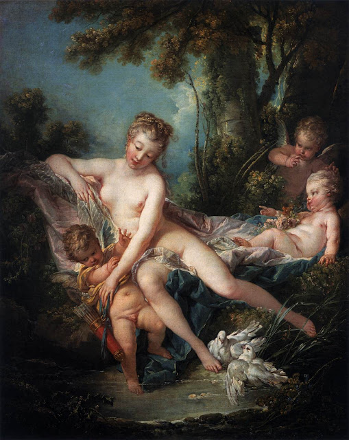 Francois Boucher - The Bath of Venus