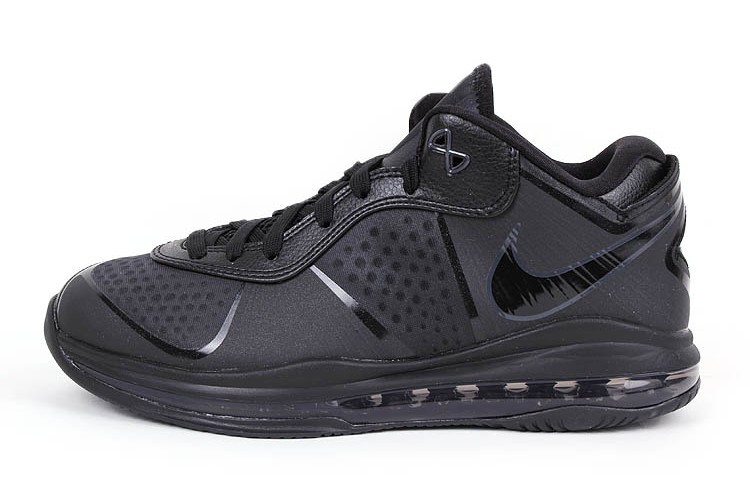 4599a6827185 Nike LeBron 8 V2 Low 8220Triple Black8221 Available Online ...