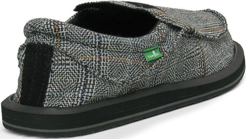 *SANUK蘇格蘭格紋:KYOTO DEAN寬版懶人鞋推出Glen Check版本 3