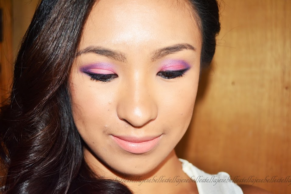 pink eyeshadow, makeup tutorial, pearypie, rosebud143, rose russo, The face shop, cc cream, look beauty, sleek makeup, asian, filipino, pinay, makeup, beauty, blogger, fanny serrano, fashion21, MUA, makeup academy, UK, Nichido,
