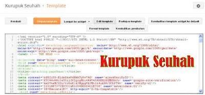 Tampilan Baru Dashboard Blogger 2013