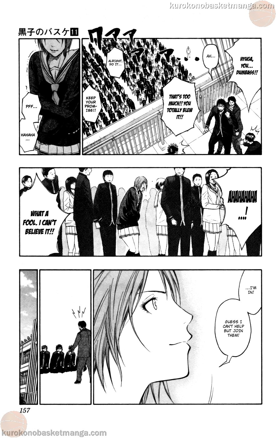 Kuroko no Basket Manga Chapter 97 - Image 11