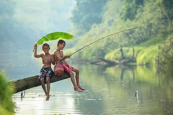trò câu cá