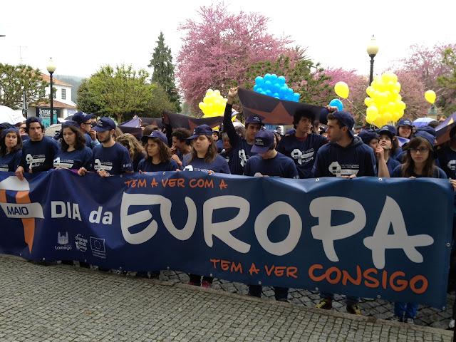 Lamego saiu à rua para celebrar construção europeia
