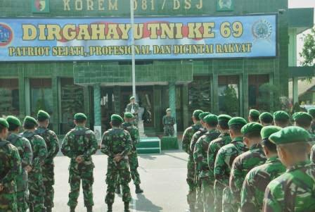 berita terkait pengamanan presiden RI ke Jawa Timur