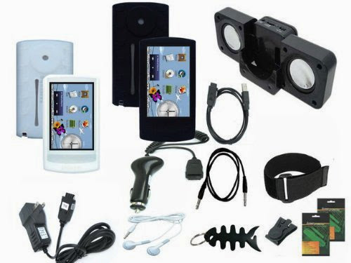 iShoppingdeals - Premium Accessories Bundle Combo for Samsung YP-R1 8GB MP3 Player