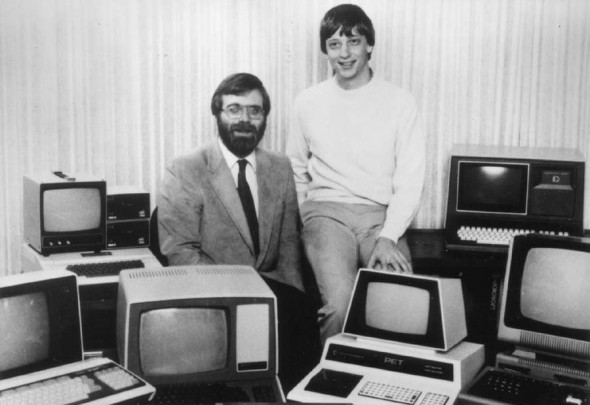 Bill Gates and Paul Allen in 1981