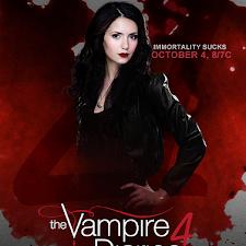 Poster Phim Nhật Ký Ma Cà Rồng - The Vampire Diaries Season 4