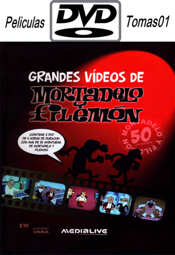 Mortadelo y Filemón Grandes Videos: 50 Aniversario (2010) DVDRip