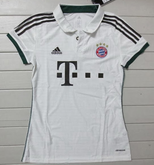 Jual Jersey Ladies Bayern Munchen Away 2014