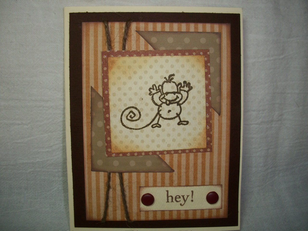 Handmade Thank You Cards for Men