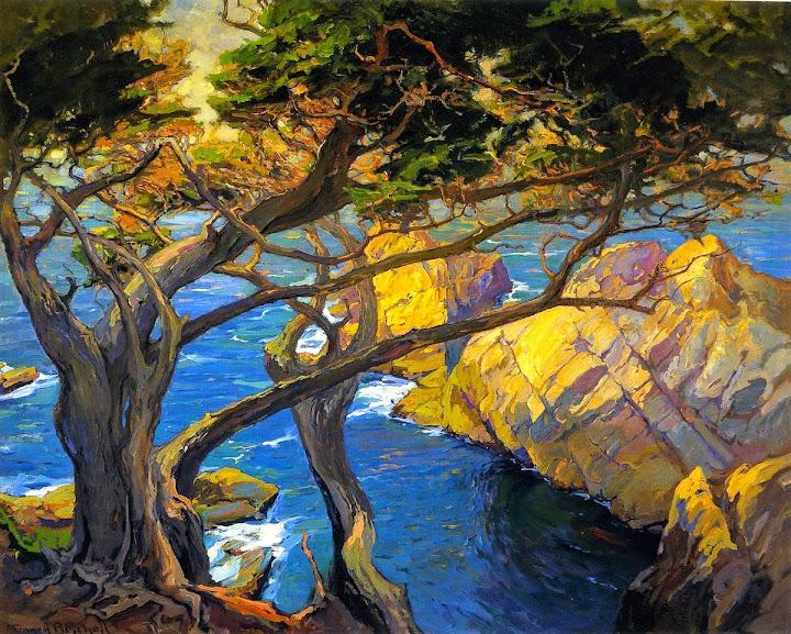Franz Bischoff - Cleft-Born Trees, Monterey