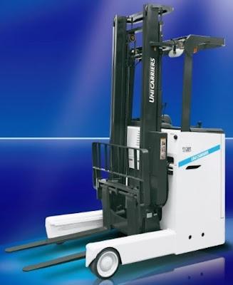 Xe nâng reach truck Unicarriers 1 – 3 tấn