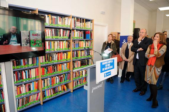 Ampliación de la Biblioteca Municipal de Chamartín 'Francisco Ibáñez'