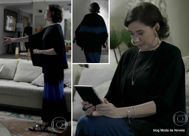 moda da novela Império - look da Maria Marta dia 29 de agosto