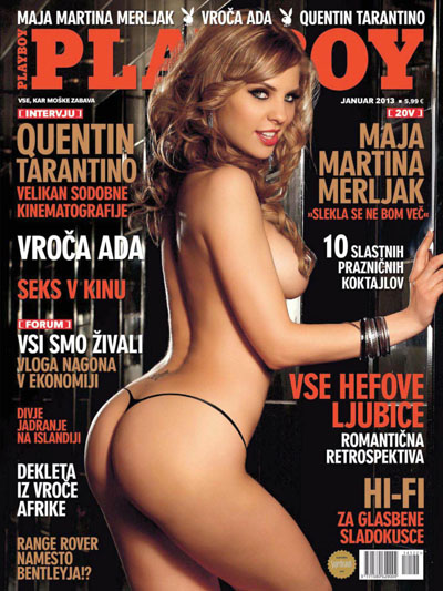Download - Playboy Eslovênia - Janeiro 2013