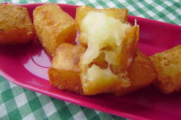 Mandioca Cremosa Frita
