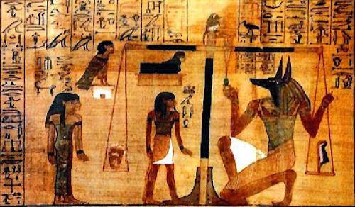 Maat And The 42 Principles Of Life And Death