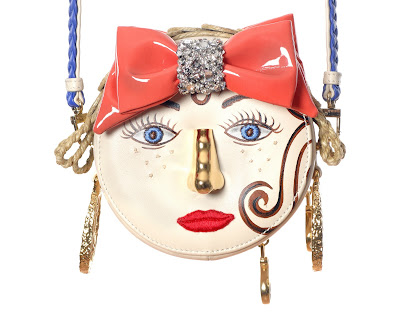 Inés Figaredo Small Girl Face Bag