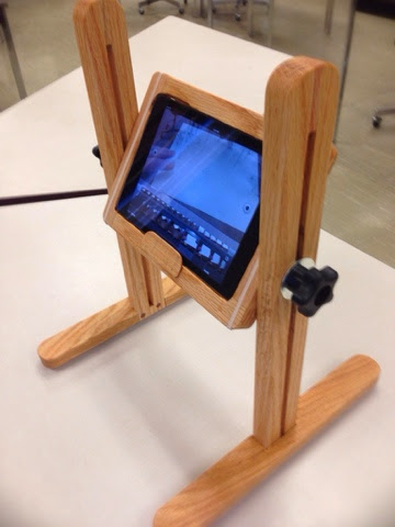 Project 118 - Stop Motion Frame for an iPad Mini | A Make Per Day