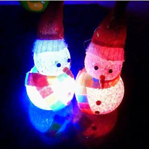 LED-Multi-Color-Crystal-Snowman-night-li