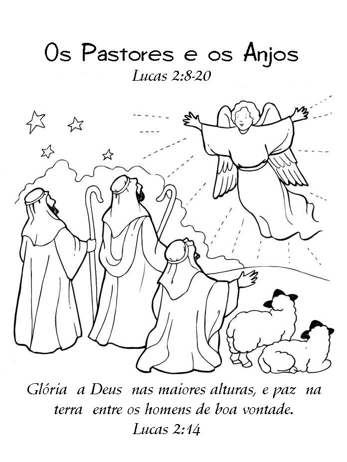 Desenhos Para Colorir E Pintar O Nascimento De Jesus E Mais
