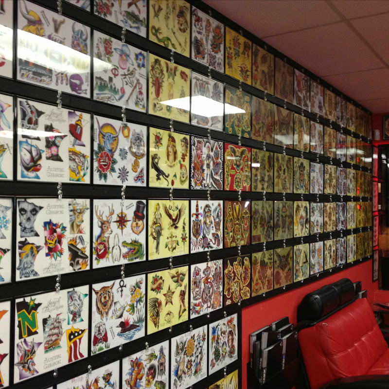 Interior design for tattoo shops joy studio design for Tattoo shops in mn