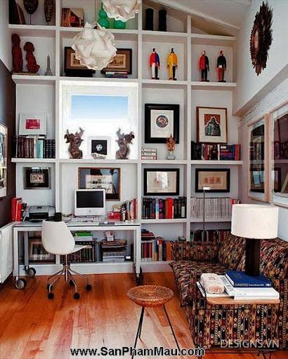 Các mẫu thiết kế nội thất phòng đọc sách P1-11