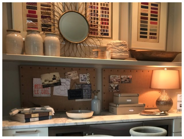 Clutter room.  2014 Southern Living Idea House in Palmetto Bluff, SC | The Lowcountry Lady