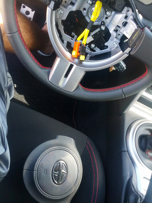 HOW TO: Remove Airbag and Steering Wheel - Scion FR-S Forum | Subaru