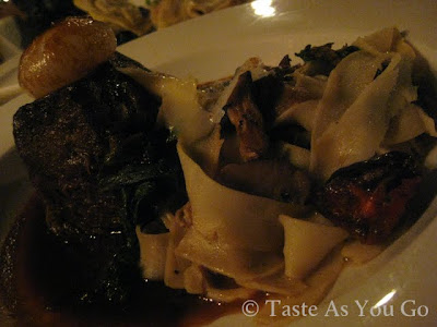 Slow-Braised Short Rib at Moshulu in Philadelphia, PA - Photo by Michelle Judd of Taste As You Go