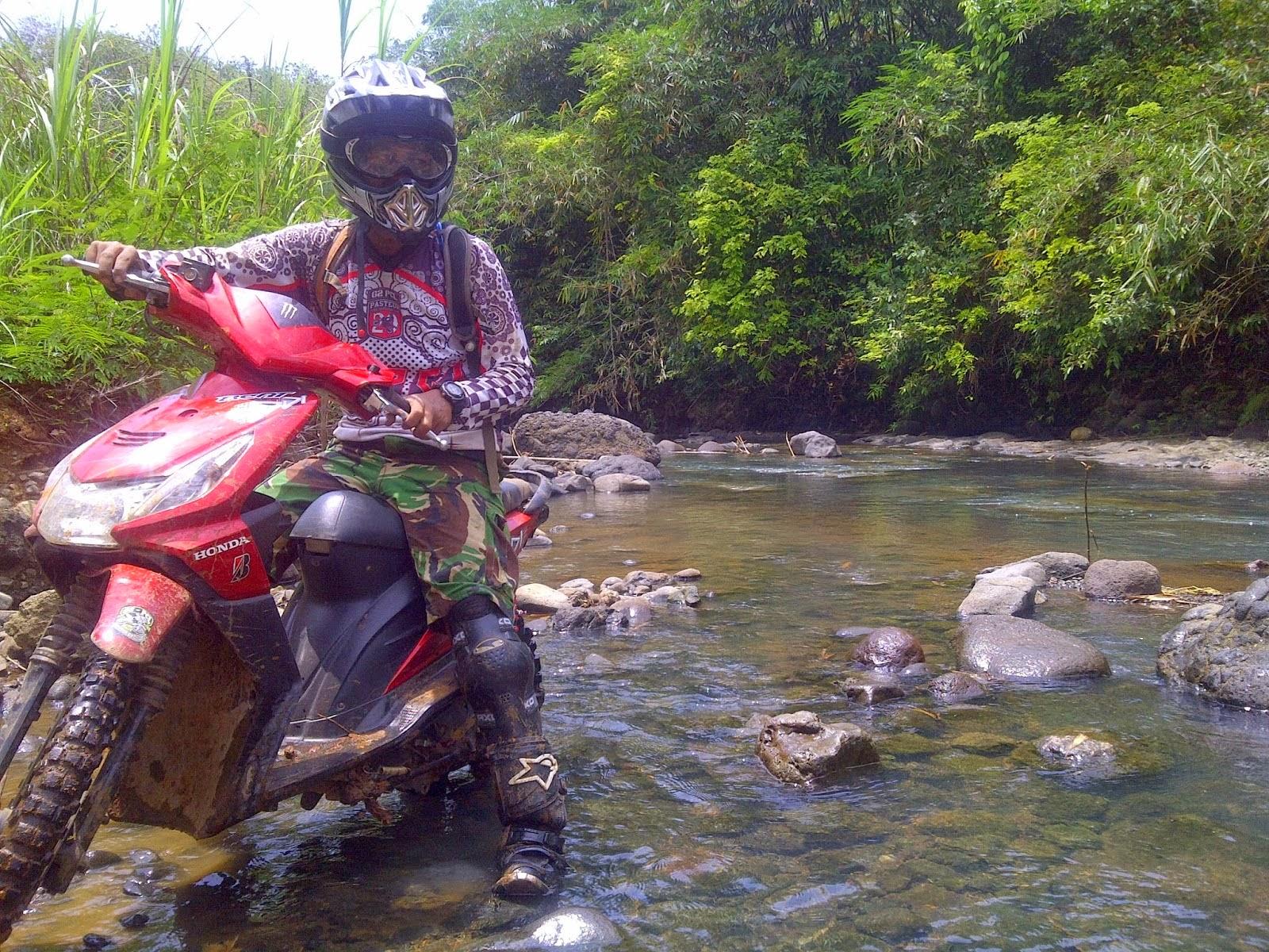 Motor Rakitan Cara Modifikasi Honda Beat Menjadi Trail