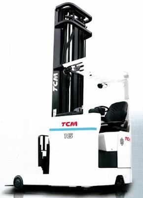 Reach Truck ngồi lái TCM FRSB16-9F Nhật Bản