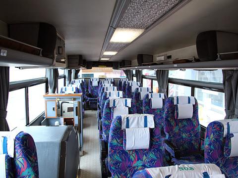 道北バス「特急えさし号」旭川線 ・665 車内
