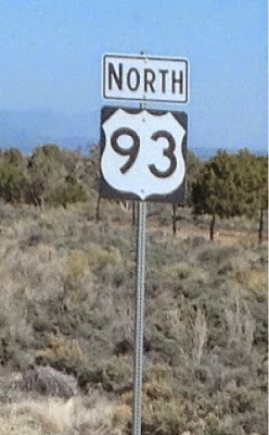 Route marker US Highway 93 North