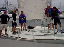 "J/24 sailing school for ""reality sailing"""