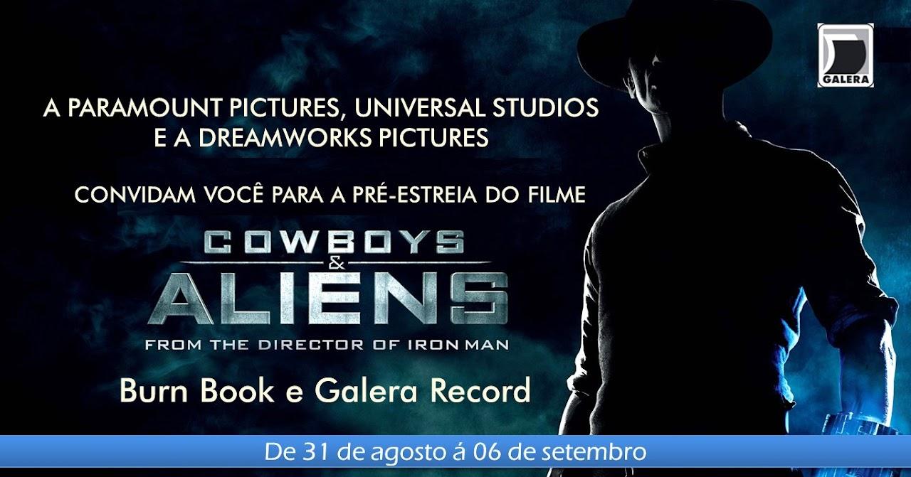 Promocao: Convites para a pre-estreia de Cowboys & Aliens! 19