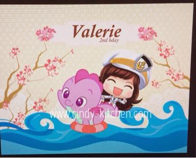 TheCAKE: Happy Birthday Valerie