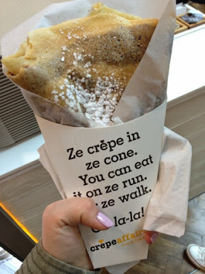 Crepes in London