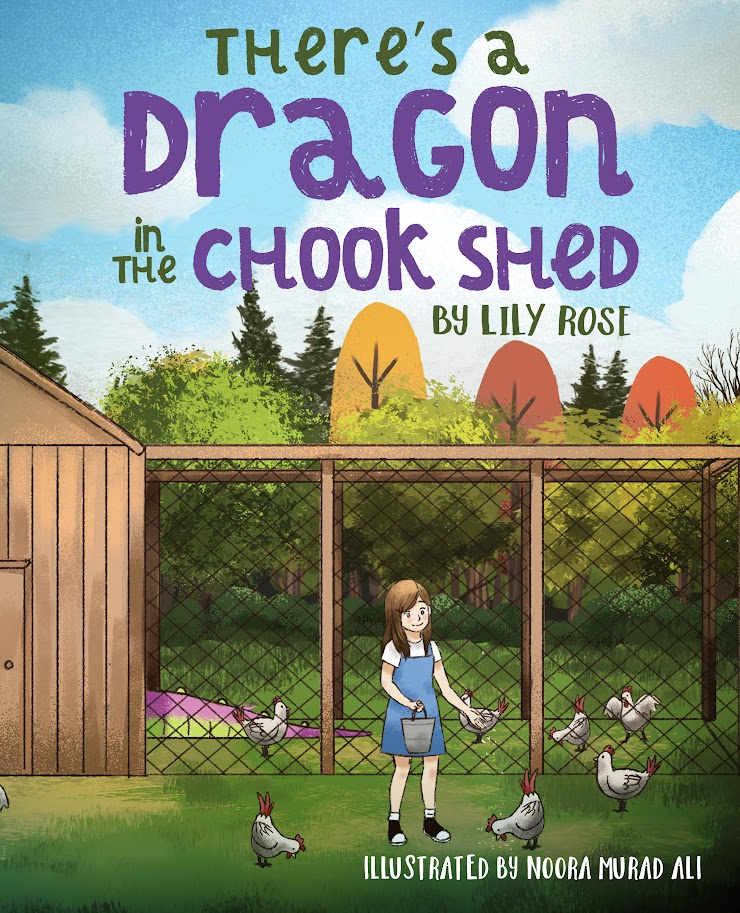 Someone's eating all the eggs in the chook shed. Sally thinks it's a dragon, but her family don't believe her. How can Sally prove what's really going on?  Suitable for ages 4-7.
