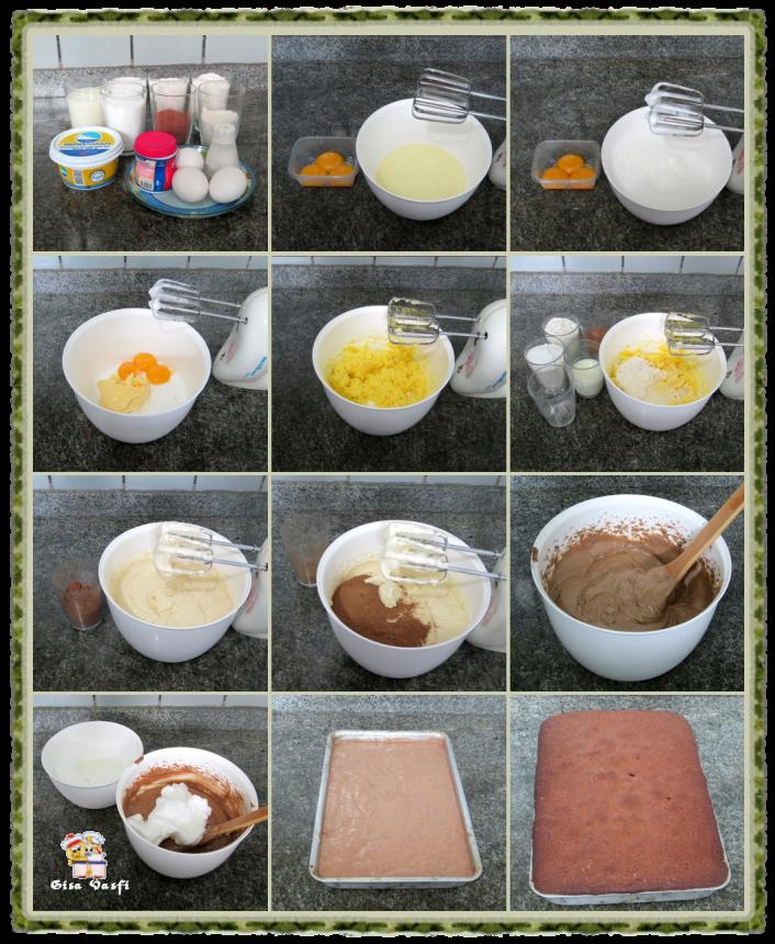 Bolo de chocolate com calda de mel 2