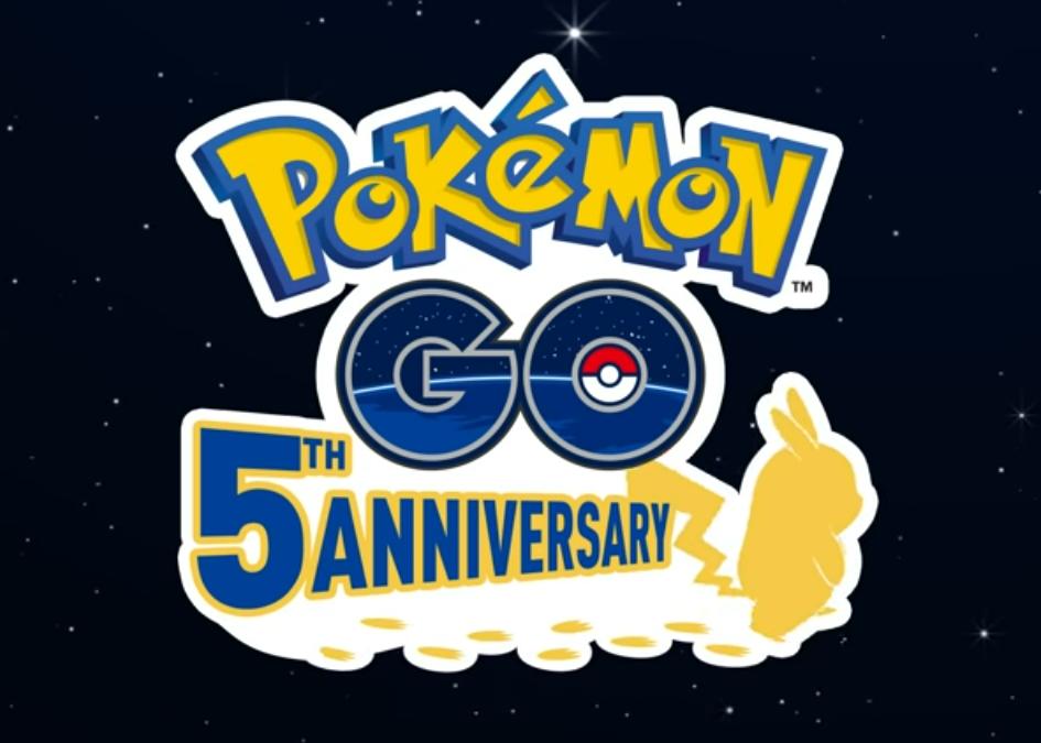 Pokémon GO 5th Anniversary [image by Pokémon GO]