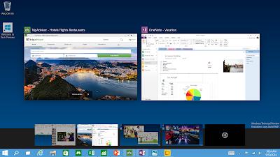 Windows 10 - Múltiples escritorios