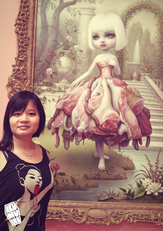 mark ryden gallery, creepy cute art, goth art, emo gothic, japanese goth, underground art,