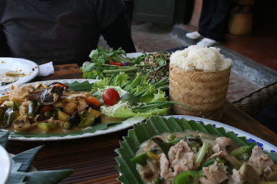 Khao niaw(Sticky Rice) Laos Tours, Laos Travel, Laos Cuisine