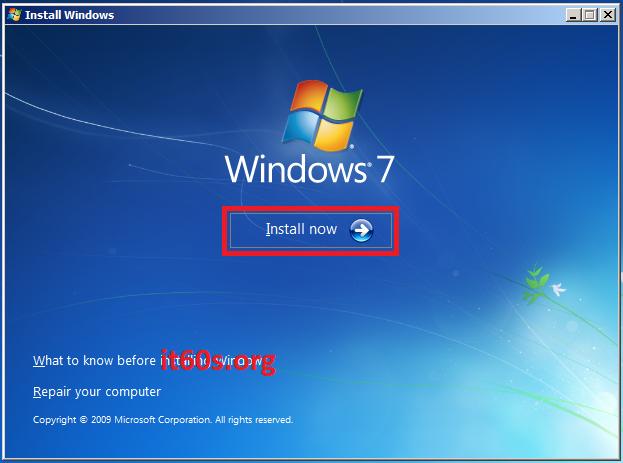 Thủ thuật khắc phục lỗi 0x80070057 khi cài Windows 7 4