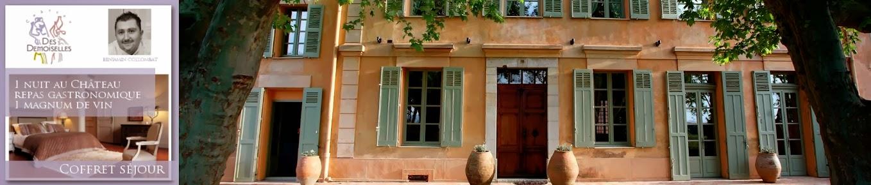 offres sejours Chateau des Demoiselles-dracenie-var-provence-coffrets vin et gastronomie-vigne et vin-oeunotourisme-piscine-nature-detente