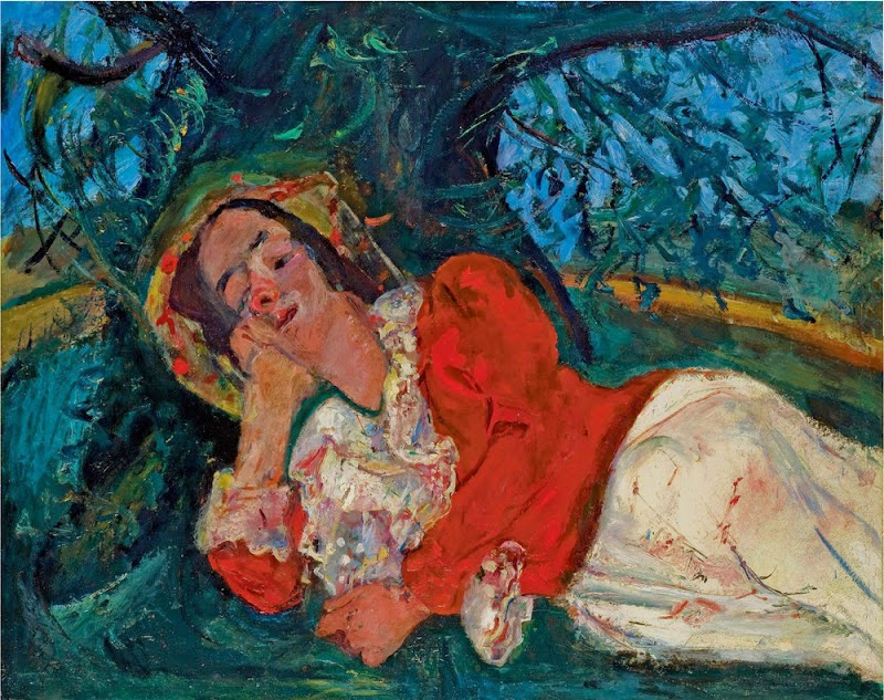 Chaim Soutine - The Siesta