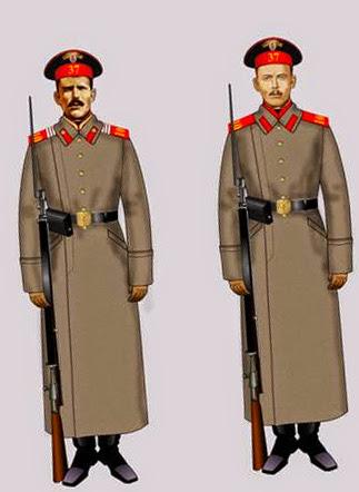 Военная форма: шинель царской армии