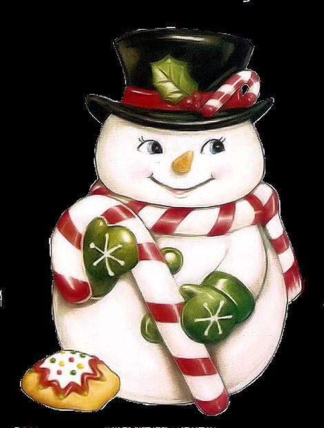 boneco de neve-docinhos